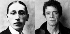 Stravinsky (1882-1971) & Reed (1942-2013)
