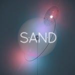 The cover of the new Sam Healy solo album, SAND.