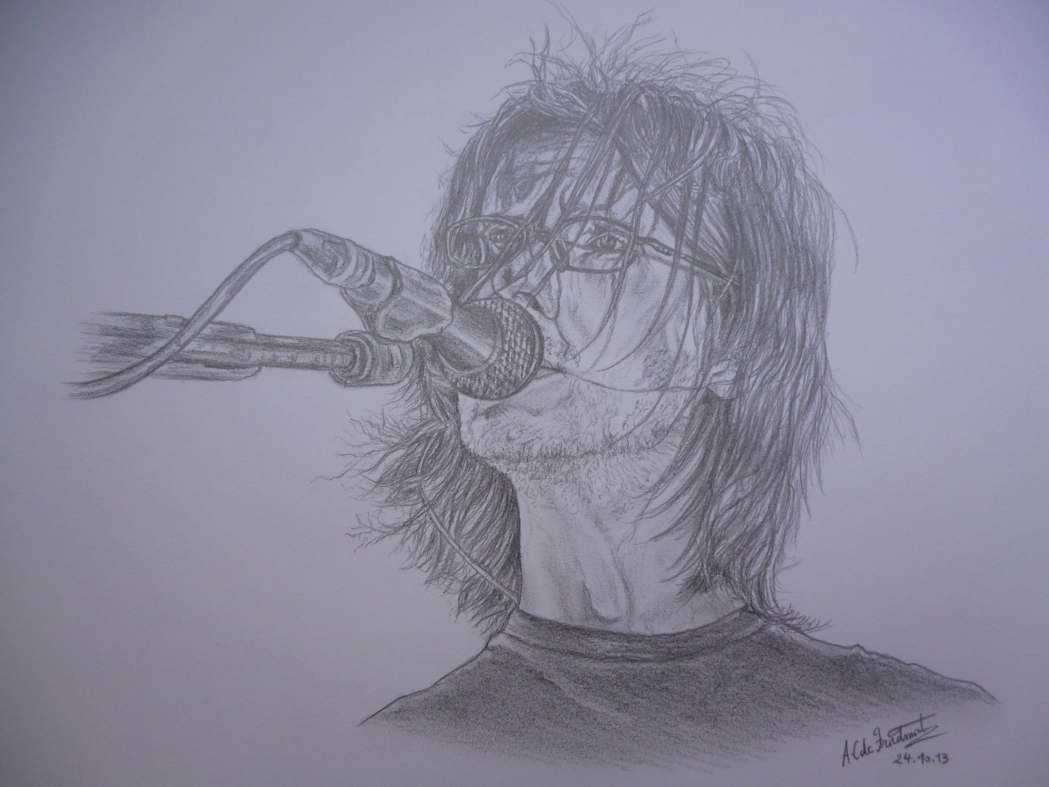 Steven Wilson By The Very Talented Anne Catherine De Froidmont