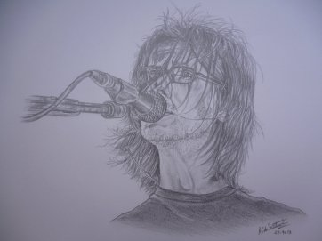 """Steven Wilson"" by the very talented Anne-Catherine de Froidmont."
