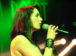 Dr. Rachel Cohen, lead singer of The Reasoning.  Photo by Tim Hall.