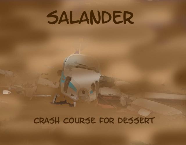 Salander's 2014 album, Crash Course for Dessert.