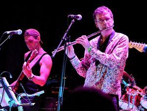 Theo Travis and Jonas Reingold. (Picture - Martin Reijman)
