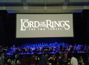 Last year's performance of The Two Towers, which I unfortunately was not able to attend
