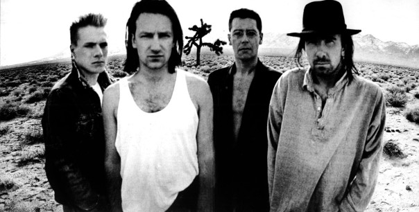 Joshua Tree era U2.  Young, angry Irishman in the New World.