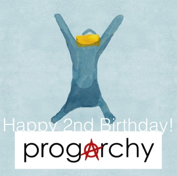 Today is progarchy's second birthday.  A huge thank you to all contributors, readers, and artists!