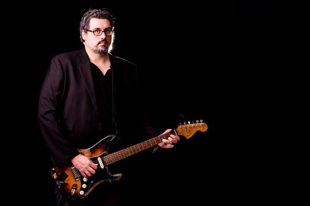 Divine guitarist.