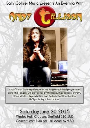 Andy Tillison gig