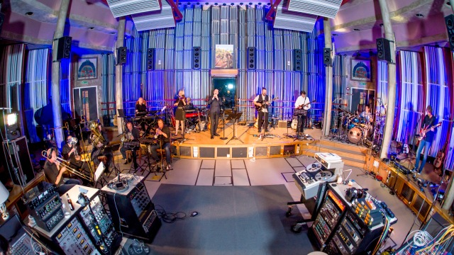 Big Big Train in Real World Studios.