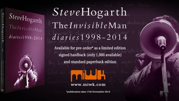 Promo for Vol II of THE INVISIBLE MAN DIARIES.