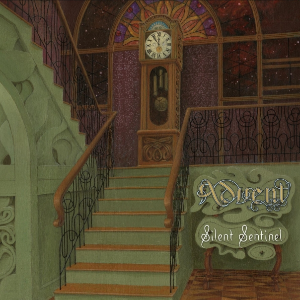Advent's third album, SILENT SENTINEL.  Out August 11.