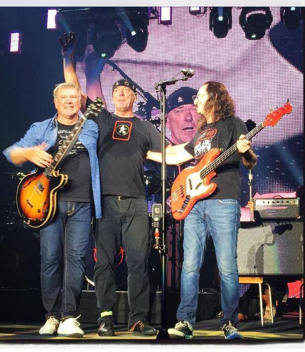 Usually Neil rejects the Limelight, and the whole band heads off the stage without a bow. Instead of milking applause, they show a short movie as they Exit... Stage Left. So, when this happens, it looks like A Farewell to Rush...