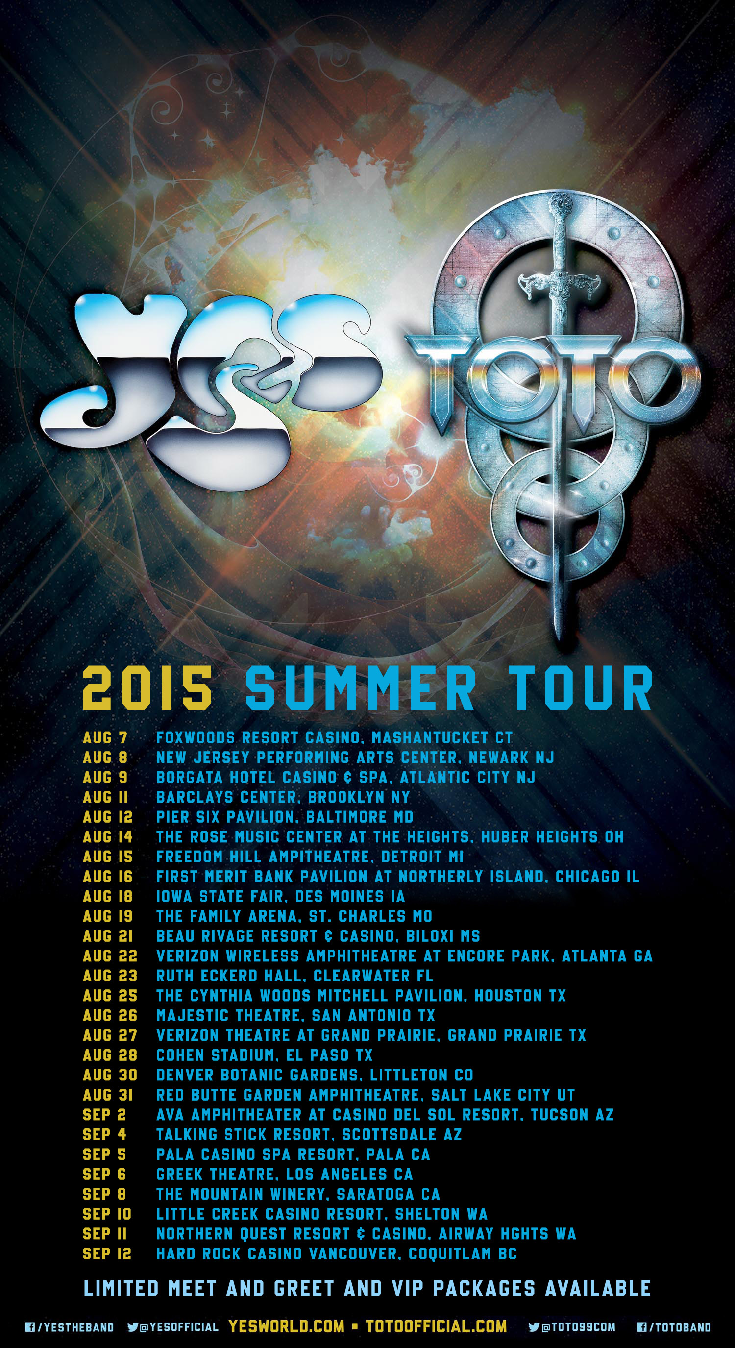 Concert Review: Yes & Toto (Hard Rock Vancouver, Sept 12, 2015 ...