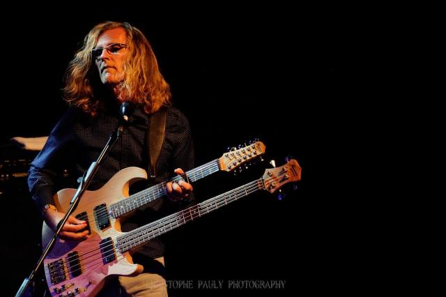 Roine Stolt as captured by  Christophe Pauly Photography.