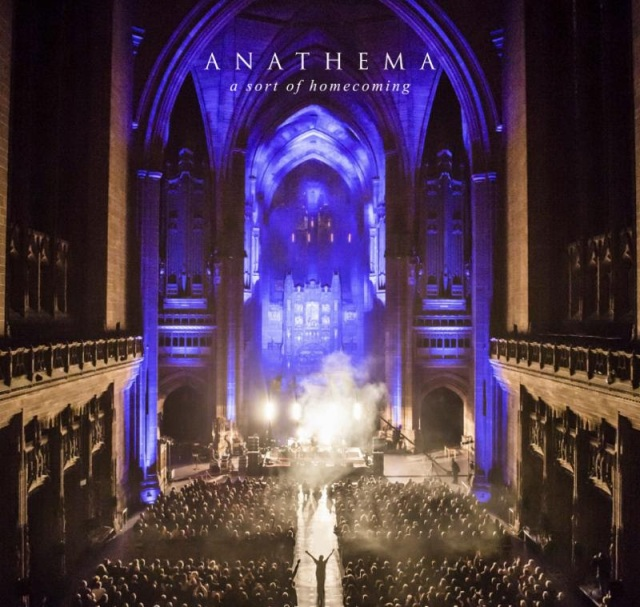 Anathema's latest live release, A SORT OF HOMECOMING. Nothing to do with U2, as far as I know.