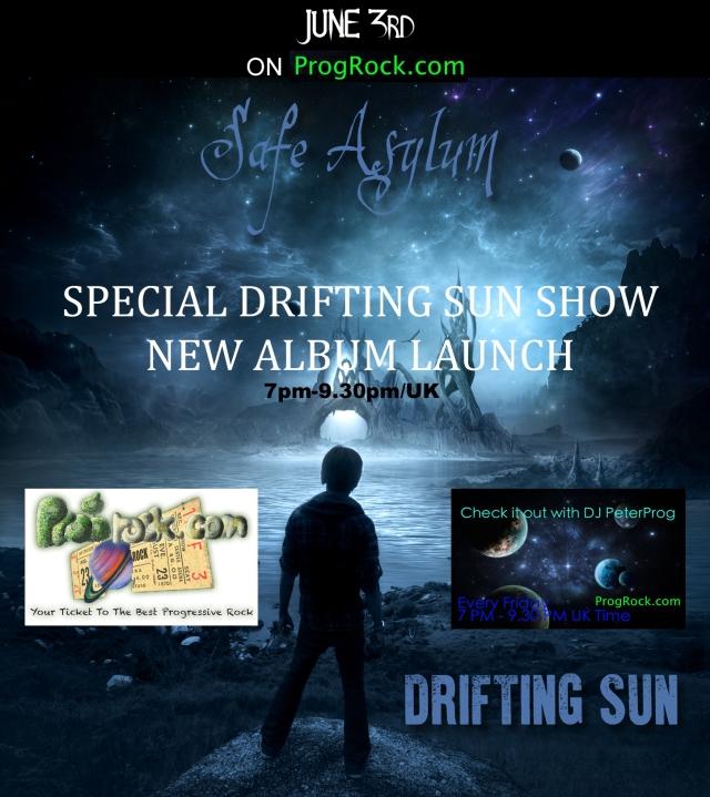 DJ Peterprog Safe Asylum Special Show Poster