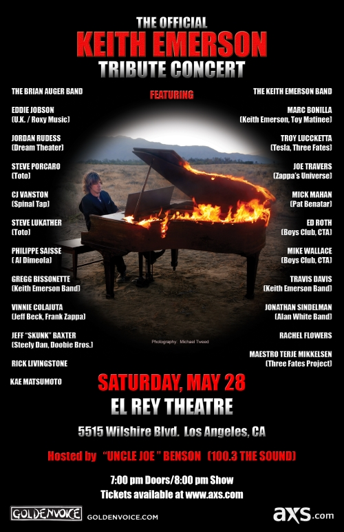 Keith Emerson tribute poster 2016 med res
