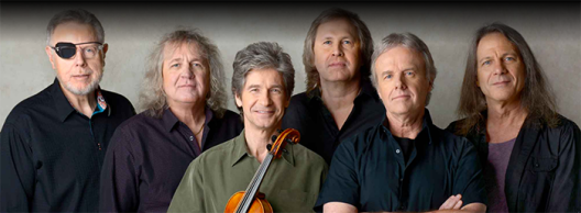 The members of Kansas, 2016 (Photo: www.kansasband.com)