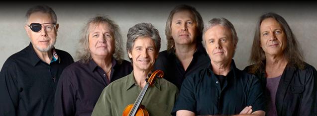 The members of Kansas, 2016 (Photo: www.kansasband.com)