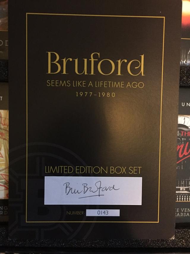 Bruford: Seems Like a Lifetime Ago, 1977-1980 — A Review