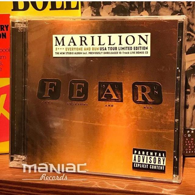 Marillion FEAR Tour Edition