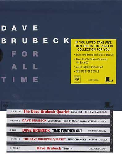 brubeck 5 set TIME