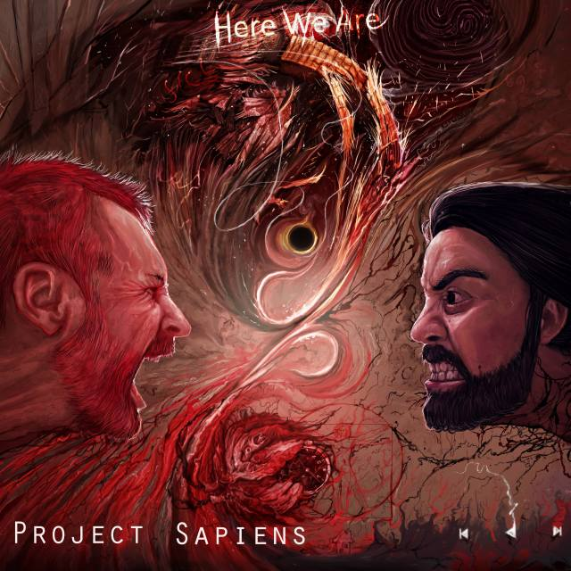 Project Sapiens - Here We Are album art