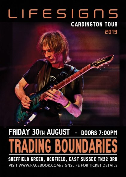 Trading Boundaries poster.
